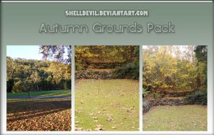Autumn Grounds Pack 2 by shelldevil