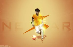 Neymar Wallpaper 2012 by EmDesignEmd