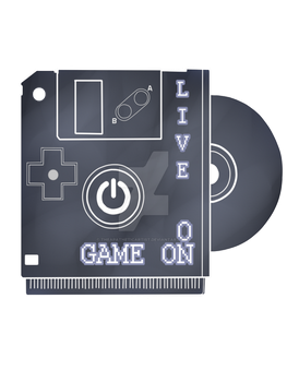 Live ON Game ON shirt by TheApatheticArtist