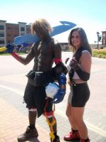 Tidus and Tifa by Chaos5555555555