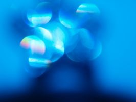 Lens Flare Star, Blue by Lil-Plunkie