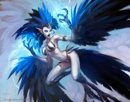 Harpy Matriarch by Mr--Jack