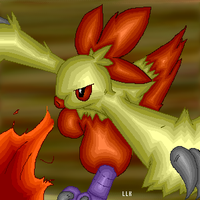 Combusken...COMPLETED by AlbinoTheUmbreon