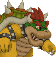 New Super Mario Bros U Bowser Redesign by KoopaKing1