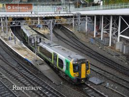 London Midland 350105 at Birmingham New Street by The-Transport-Guild