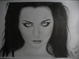 Amy Lee (Evanescence) Portrait  =Manic= by ManicTM