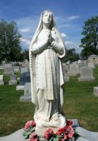 Mount Olivet Cemetery Mary 36 by Falln-Stock