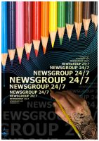 Newsgroup Leaflet by katrinejoyce