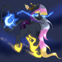 Saturn Crest My StarDust Pony by WildAnimeKittyKat