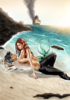 Mermaid to the rescue by Sanctif1ed
