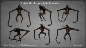 Tales Of Arianrhod: Nightmare Low Poly by Ulamb