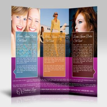 Tri-Fold Fashion Brochure by pmvchamara