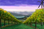 Practice 0033 GIMP Mouse SdJ Vineyards by ludwig-a