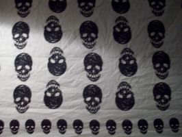 skull texture 1 by watergal28-stock