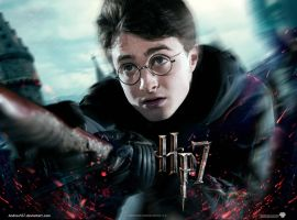 Harry Potter 7 - wallpaper by AndrewSS7