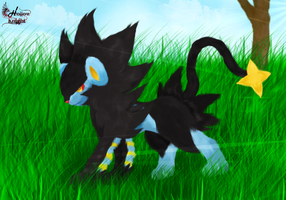 Luxray by HollowKn1ght