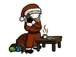 All Iroh-Santa wants by Amaya8