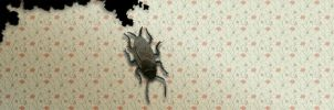 Roach ate my wallpaper by pza