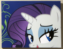 My Dear Rarity by pyrobob