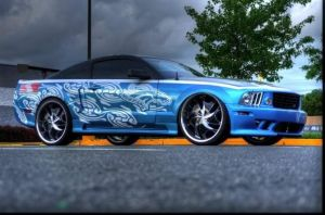 Blue Mustang 3 by sasigrl4evr