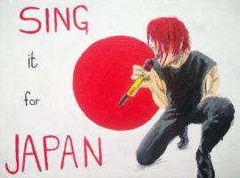 SINGitforjapan by desertghoul