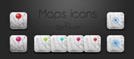 Maps icons alternatives by DjeTouch59