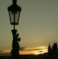 On Charles Bridge by GreyMiracles