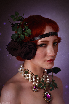 The Witcher - Flower Portraits - Orianna by MilliganVick