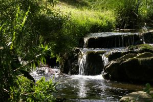 Small Waterfall by doulifee