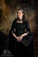 18th century shooting - l'Atelier des Vertugadins by Katikut