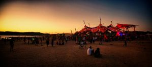 Alchemy Circle at sunset by scwl