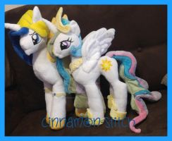 mlp plushie commissions made it to Bulgaria by CINNAMON-STITCH