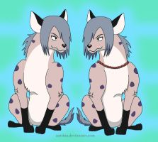 Sakon and Ukon Hyena Style by Aariina