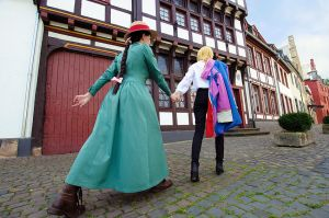 Howls Moving Castle: Howl and Sophie 2 by Green-Makakas