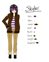 Skylar Reference by CrystalTheTaco
