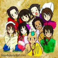 APH - Asian Invasion by FrauV8