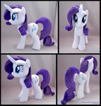 Rarity Plush by lazyperson202