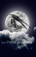 Gothic brushest volume 2 by X-Cerberus-X