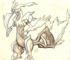 White Kyurem by SnowyStuff