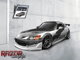 Nitto 1320 legends - Prem s2k by SLRrazor