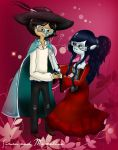 Simon and Marceline by BeckyNatt