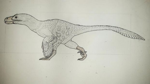 Utahraptor (Updated XIII) by Braindroppings1