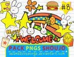 Pack 8 Pngs Shoujo by akumaLoveSongs
