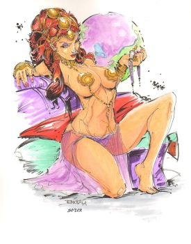 Dejah Thoris By Rantz Colored By Seter by Dseter