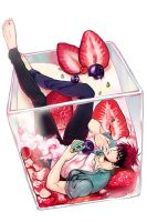 Kagami with Strawberry Tirasmisu by applelovesjelly