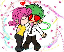 Cosmo And Wanda Chibs by Oribella