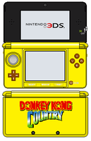 Nintendo 3DS - Banana Yellow Edition by TheWolfBunny