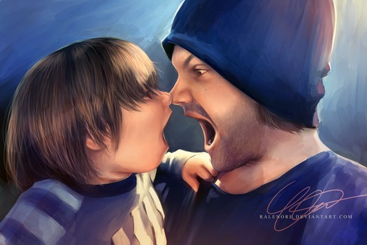 Jared and Thomas Padalecki by Ralenore