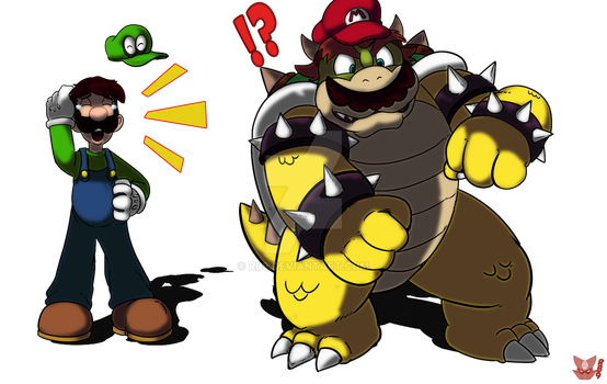 The Bowser Error of Mario Odyssey.. by RB9