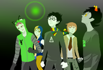 Cascade Fandomstuck by TereziEnglish